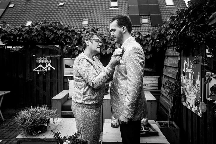 huwelijk in huys ten Donck