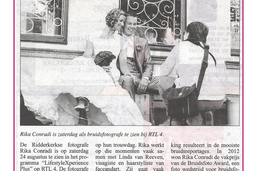 RiCon Fotografie bij RTL4 op TV